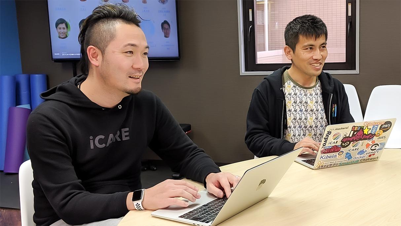 左から取締役 石野様、エンジニア 安田様